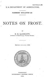 Notes on Frost