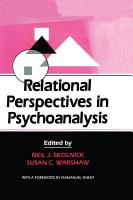 Relational Perspectives in Psychoanalysis PDF