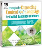 Strategies for Connecting Content and Language for ELL in Language Arts eBook PDF