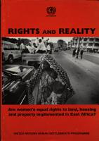 Rights and Reality PDF