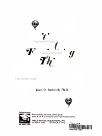 Writing About Fascination Things PDF