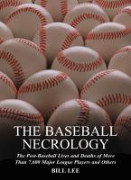 The Baseball Necrology PDF