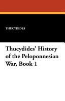 Thucydides  History of the Peloponnesian War Book