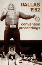 1982 Proceedings  Seventy Third Annual Convention of Rotary International PDF