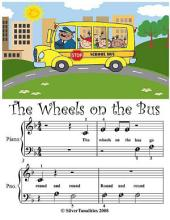 Wheels On the Bus - Beginner Tots Piano Sheet Music
