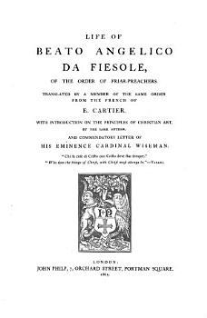The Life of Beato Angelico Da Fiesole     PDF