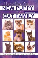 How to Raise Your New Puppy in a Cat Family PDF