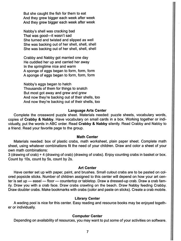 A Teaching Guide for Suzanne Tate's Nature Series