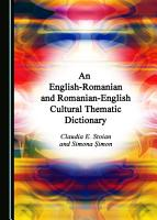 An English Romanian and Romanian English Cultural Thematic Dictionary PDF