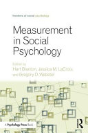 Measurement in Social Psychology PDF