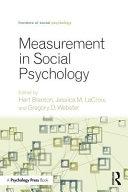 Measurement in Social Psychology PDF