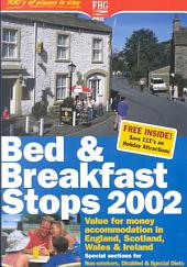 Bed & Breakfast Stops in England, Scotland, Wales & Ireland