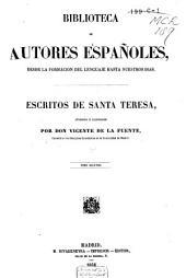 Escritos de Santa Teresa: Volumen 2