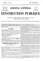 Journal g  n  ral de l instruction publique et des cultes PDF