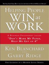 Helping People Win at Work PDF