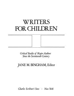 Writers for Children PDF