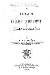 A Manual of English Literature: A Text Book for Schools and Colleges
