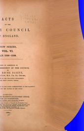 Acts of the Privy Council of England. New Series: Volume 6