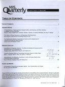 MIS Quarterly