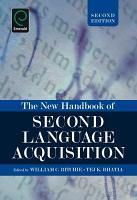 The New Handbook of Second Language Acquisition PDF