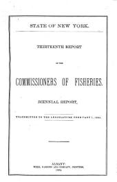 Report of the Commissioners of Fisheries of the State of New York: Volume 13, Part 1884