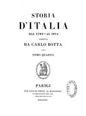 Storia d'Italia dal 1789 al 1814: Volume 4