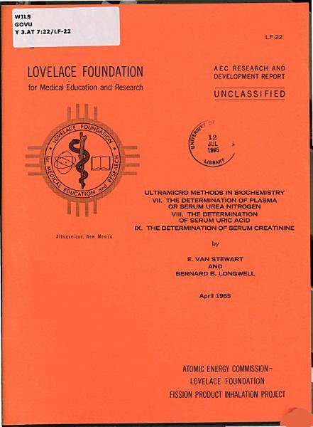Ultramicro Methods in Biochemistry PDF