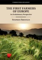 The First Farmers of Europe PDF