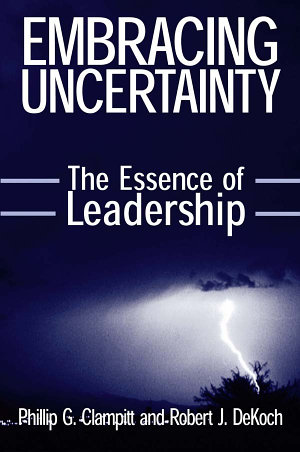Embracing Uncertainty  The Essence of Leadership