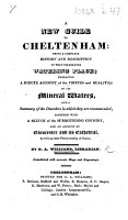William s New guide to Cheltenham      with a sketch of the surrounding country  and an account of Gloucester and its Cathedral      Embellished with accurate maps  and engravings PDF