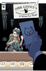 Dirk Gently's Holistic Detective Agency: A Spoon Too Short #3