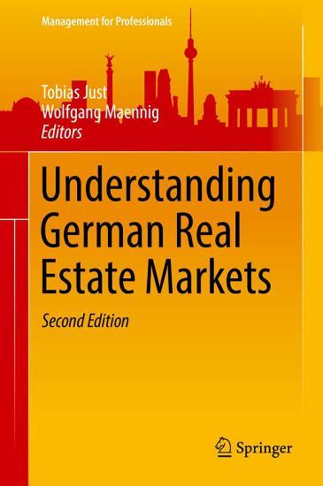 Understanding German Real Estate Markets PDF