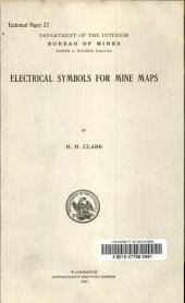 Electrical symbols for mine maps