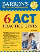 6 ACT Practice Tests PDF