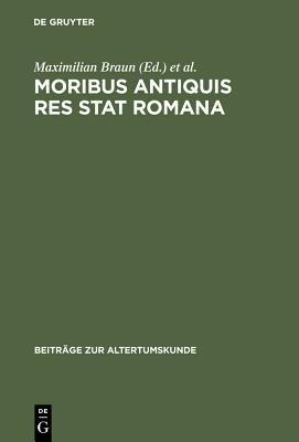 Moribus antiquis res stat Romana PDF