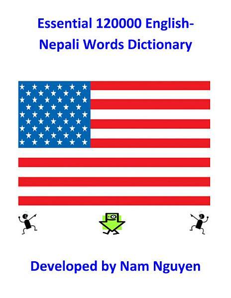 Essential 120000 English-Nepali Words Dictionary