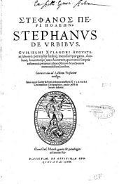 Stephanos peri poleon