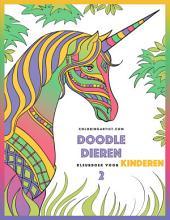 Doodle Dieren Kleurboek voor Kinderen 2