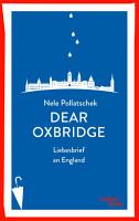 Dear Oxbridge PDF