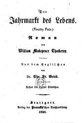 Der Jahrmarkt des Lebens: (Vanity Fair) : Roman, Bände 1-4