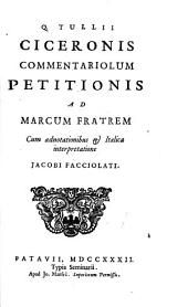 Commentariolum petitionis