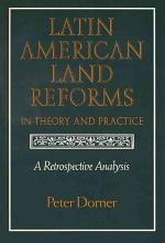 Latin American Land Reforms in Theory and Practice PDF