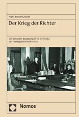 Der Krieg der Richter PDF
