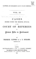 Cases Decided During the Sessions  1873  1884  PDF