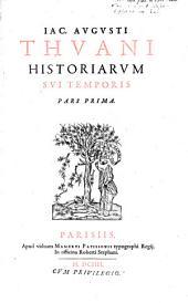 Historiae sui temporis. (liber 1-18.): Volume 1