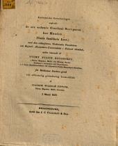 Anatomiska anteckningar angående de sex sednare Cerebral-Nervparen hos hunden : (Canis familiaris Linn): ... under inseende af Evert Julius Bonsdorff ... af Joachim Wilhelm Pipping ...