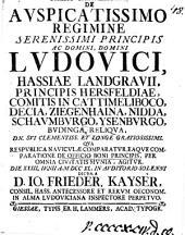 Oratio gratulatoria ... qua ... de officio boni principis ... agitur: Volume 18