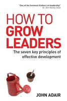 How to Grow Leaders PDF