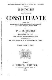 Histoire parlementaire de la révolution françaises: Volume2