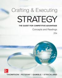 Crafting And Executing Strategy Concepts And Readings Book PDF